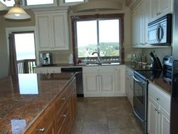 Lincoln City Beach House - Main Level - Kitchen - View